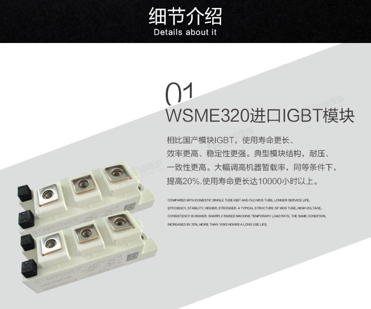 焊机/逆变交/直流脉冲氩弧焊机 wsme-320