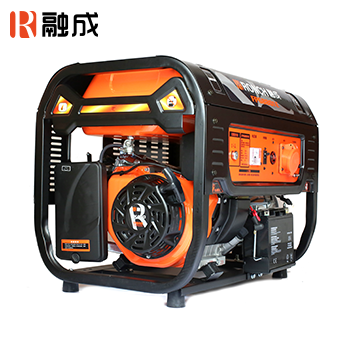 汽油发电机 FPG7801E 单相直流12V两用5.0KW (电启)