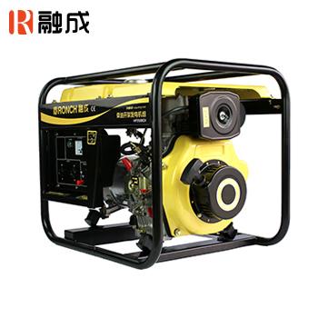 开架式柴油发电机 HP4000CX 单相直流12V 2.8KW (手启)