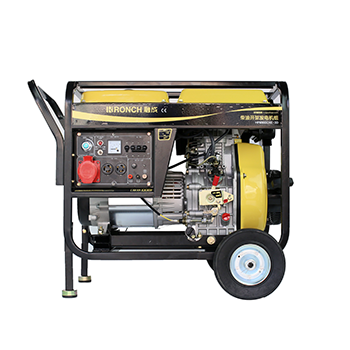 开架式柴油发电机 HP8500CXE-3D 单相6.0KW/三相6.0KW 直流12V (电启)