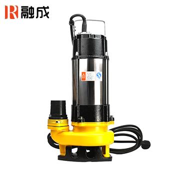 水泵/潜水排污泵/不锈钢机筒排污潜水泵 WQD10-10-0.75<ST> 0.75KW 新界老百姓