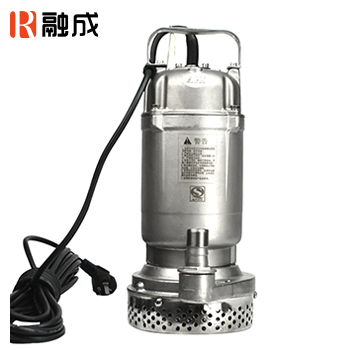 水泵/潜水泵/全不锈钢小型潜水电泵(全精铸) QDX10-16-0.75S 0.75KW 新界老百姓