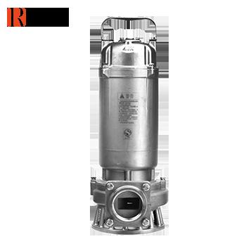 水泵/潜水排污泵/全不锈钢污水污物潜水电泵<法兰>(全精铸) WQ10-10-0.75S 0.75KW 新界老百姓