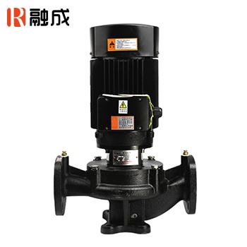 水泵/管道泵/立式离心泵/SGR立式铸铁冷热水管道式增压离心泵380V SGR50-160A 2.2KW 新界老百姓