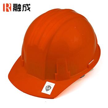 安全帽 橙色(PE)
