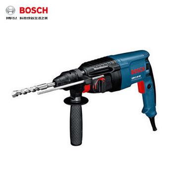 电锤/轻型电锤/GBH2-26E 26mm 800W(两用锤钻/无级变速/圆柄四坑/安全离合功能)  博世