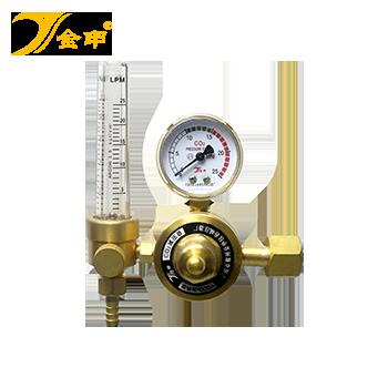 二氧化碳电加热减压器(全铜型) 36V YQCO2-C加热型 YQCO2-C加热型  金申