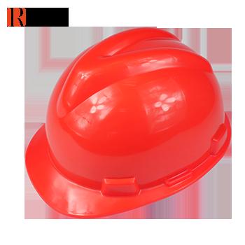 V型加厚直边安全帽 红色 RC-23