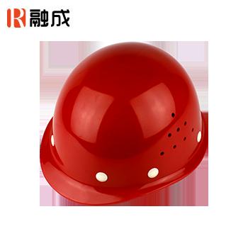 盔式透气安全帽 红色 RC-06