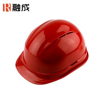 宽顶透气安全帽 红色 RC-04