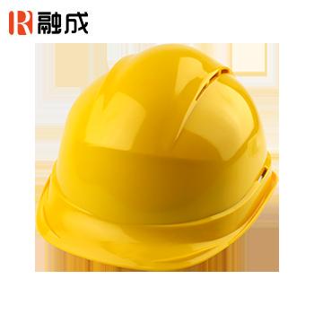 宽顶透气安全帽 黄色 RC-04