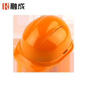 宽顶透气安全帽 橙色 RC-04