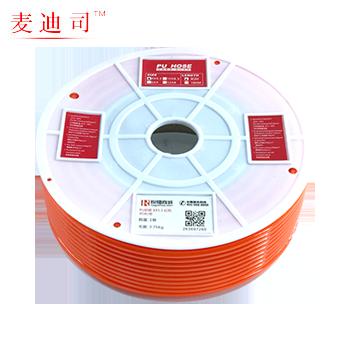 PU軟管 12X8 紅色  [特定商品]  麥迪司