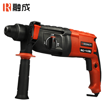 电锤/轻型电锤/RC-1126 26mm 800W (三用电钻电锤电镐/无级变速/圆柄四坑/安全离合功能)  融成