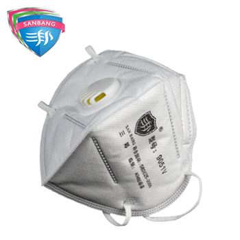 9051V防尘折叠口罩  三邦