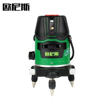激光水平仪/水准仪/绿光 5线  欧尼斯