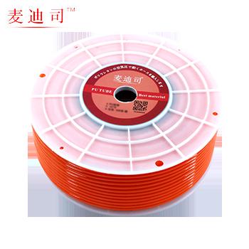 PU软管 12X8 红色 100米/卷  麦迪司