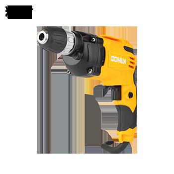 手电钻/手枪钻/10mm/650W(无级变速/正反转/自锁夹头)  精盾