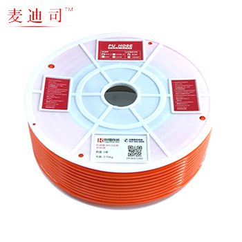 PU管/气管/风管/软管/红色12X8  麦迪司