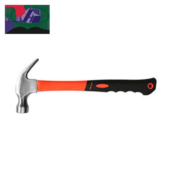 包塑柄羊角锤/小锤/木工榔头/多功能钉锤/8oz(0.25KG)