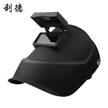焊接面罩/焊帽/頭戴式 美式  黑色