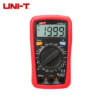 数显万用表/UT33C+  UNI-T