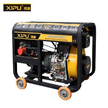 發電機/6KW/單相/三相/電啟動  錫普