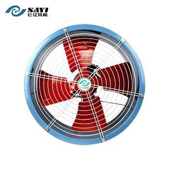 SF系列轴流风机/管道式/0.75-4P/单相  仨亿