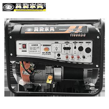 汽油发电机/8.5kw/单相/电启动  翼珑东风