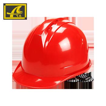 安全帽/一字 红色  飞迅