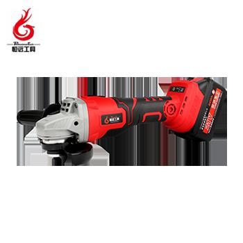 锂电角磨机/HY-WSJM9553/600W/21V/4.0ah/双电  恒远工具