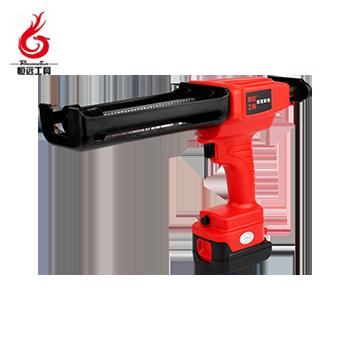 锂电双管齿条胶枪/HY-SJC/250mm/8.4V/4.0ah/双电  恒远工具