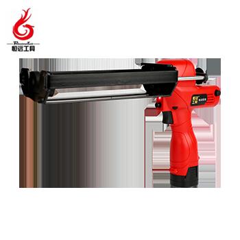 锂电双管丝杆胶枪/HY-SJS/330mm/8.4V/4.0ah/双电  恒远工具