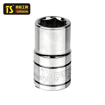 短套筒/12.5mm系列/6角/10mm  TS