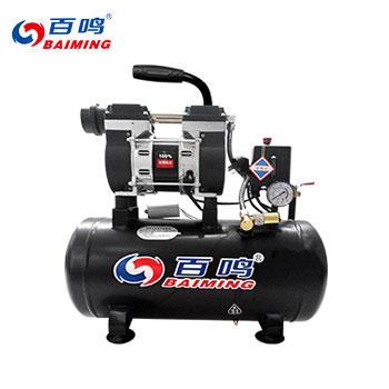 无油静音空压机/9L/600W/无电磁阀  百鸣