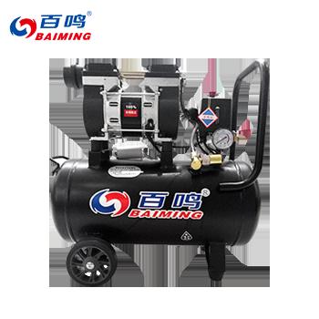 无油静音空压机/30L/600W/有电磁阀  百鸣