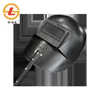 电焊面罩/SF-113 黑/塑料半自动/含镜片  伦士发