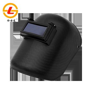 电焊面罩/SF-119 黑/台式头代/含镜片  伦士发