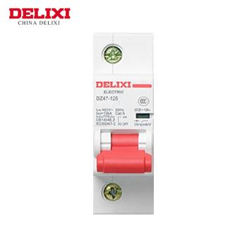 大电流断路器/DZ47-125  1P  li(D)  100A  德力西