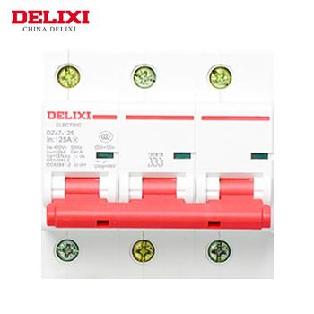 大电流断路器/DZ47-125  3P  li(D)  63A  德力西