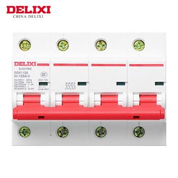 大电流断路器/DZ47-125  4P  li(D)  100A  德力西