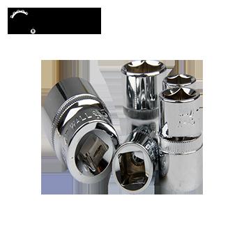 530027Cr-V12.5mm系列公制六角套筒-27mm