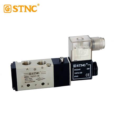 TG电磁阀/TG2521-08/DC4V(替代4V210-08)  索诺天工STNC