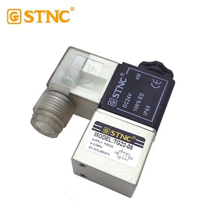TG电磁阀/TG22-08/AC220V(替代2V025-08)  索诺天工STNC