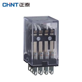 小型电磁继电器/JZX-22F(B)/2Z 插 DC24V  正泰