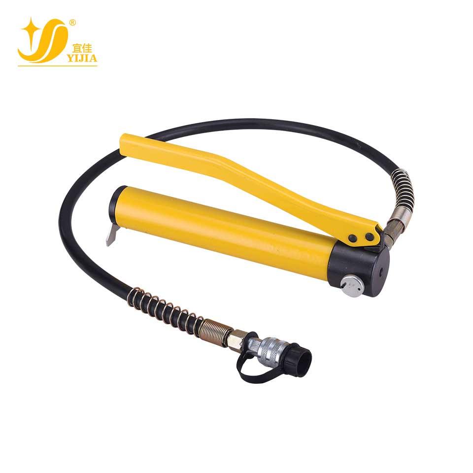 手动液压泵/CP-180/木箱  宜佳