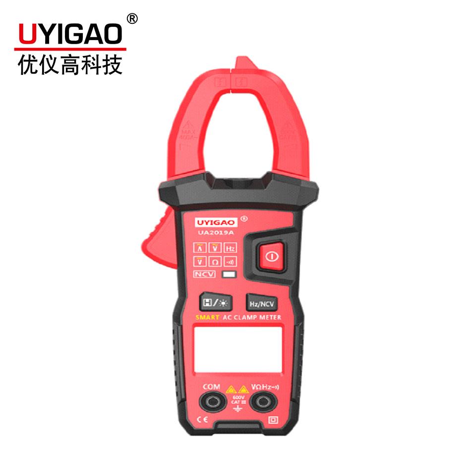 UA2019B数字钳形表(交流电流电阻二极管蜂鸣器)  优仪高