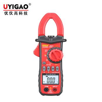 UA2008A数字钳形表(数字双开2A/600A带钳头照明灯)  优仪高