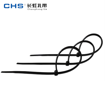塑料扎带/ZD-SLT-3*200 黑色 1000根/包  长虹扎带