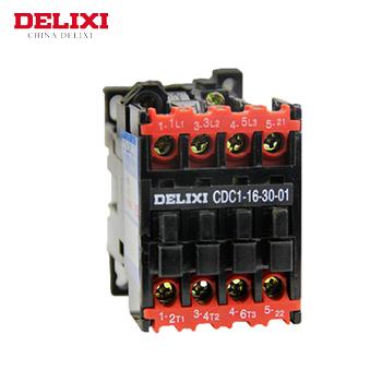 交流接触器/CDC1-16-30-10 220V  德力西